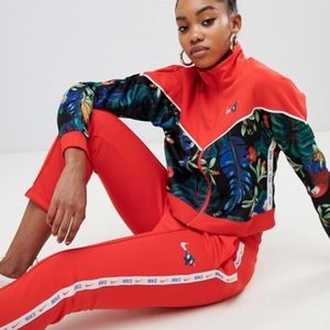 Nike Women's Tropical Femme Red Track Pants